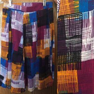 HOST PICK LuLaRoe Patterned Madison Skirt Size XS